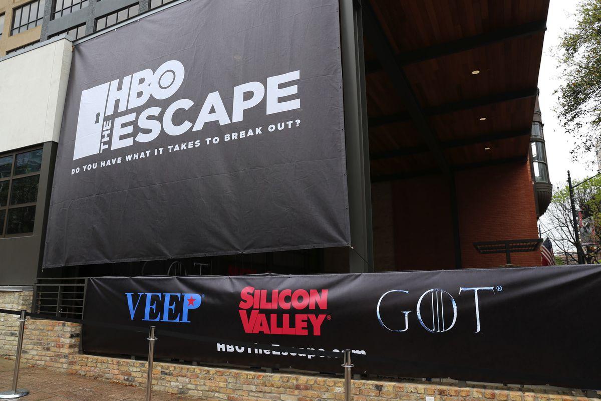 scaperoom de HBO experiencia de marketing